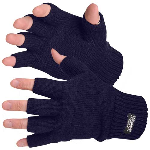Fingerless Knitted Glove
