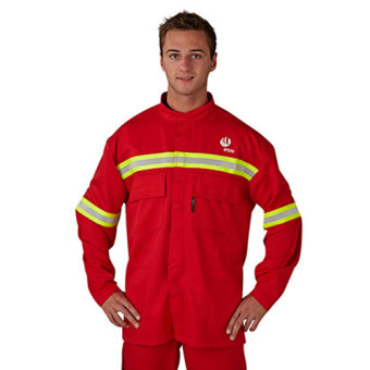 ALu-SAFE smelter jacket
