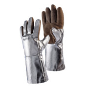 Brown Sebatan Leather / Alumninium Coated Glove