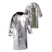 Front Heat Protection Coat/Apron - Aluminised Preox-Aramid