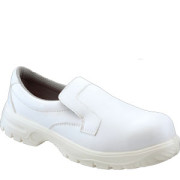 W322 White Food Industry Slip-on Shoe