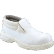 White Food Industry Slip-on Chukka boot